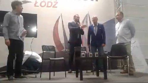 Targi i prelekcja w Łodzi