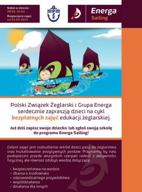 Rusza nabór do 2 edycji Programu ENERGA SAILING Edukacja