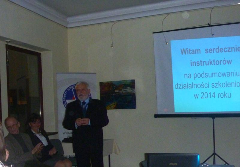 Spotkanie instruktorów żeglarstwa WOZŻ