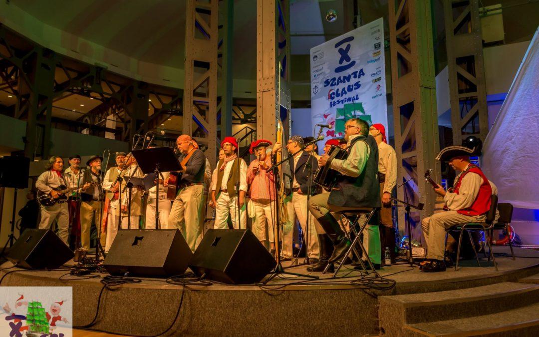 Jubileuszowy X Szanta Claus Festiwal
